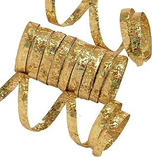 Luftschlangen FOLAT 22750 gold 3er Pack Geburtstag /& Party