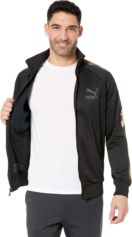 f6e253695176b PUMA Mens Wild Pack T7 Track Jacket at Amazon Men's Clothing store