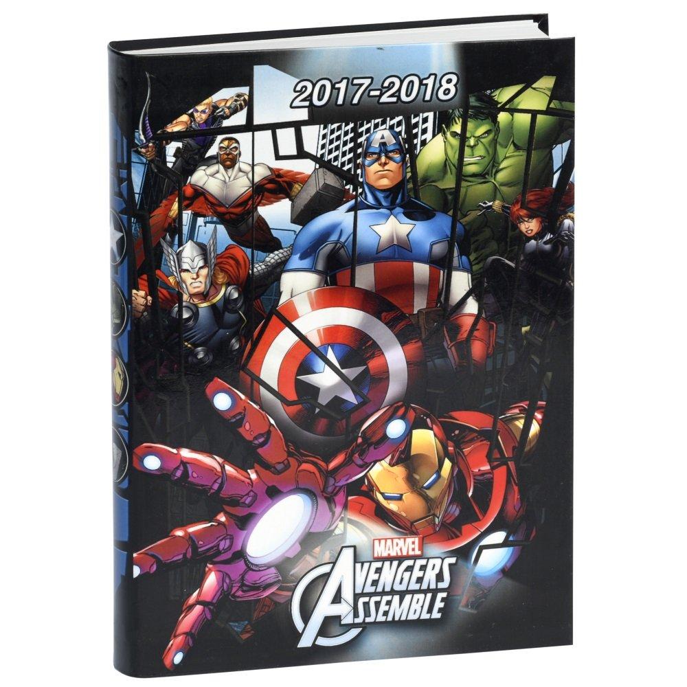 Marvel Avengers - Agenda escolar 17 x 12 cm (2017 - 2018 ...