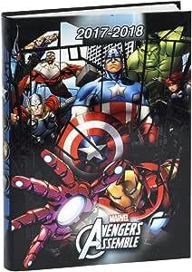 Marvel Avengers – Agenda escolar 17 x 12 cm (2017 – 2018