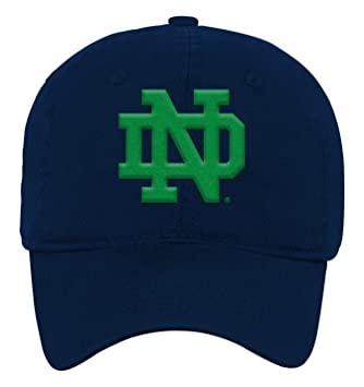 fb1bc453fbb NCAA by Outerstuff NCAA Notre Dame Fighting Irish Toddler Team Slouch  Adjustable Hat