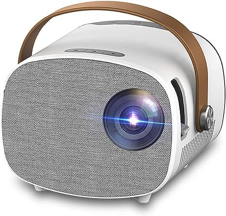 Opinión sobre WTTHCC Mini Proyector Portátil para 1080P Video Beamer Home Theater WiFi Multiscreen Media Player Regalo para Niños