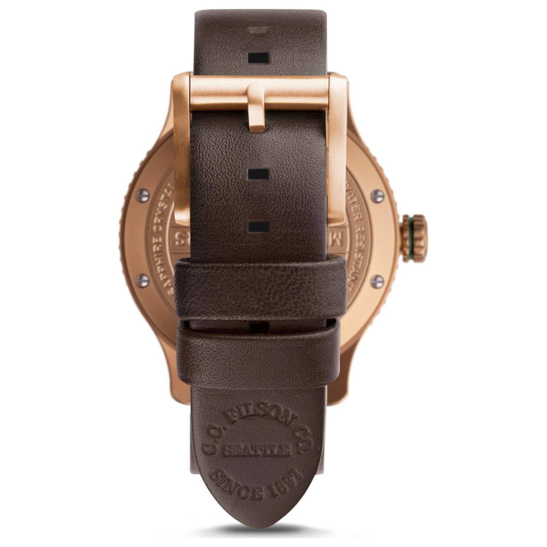 Amazon.com: Filson de los hombres mackinaw Campo reloj 43 mm ...