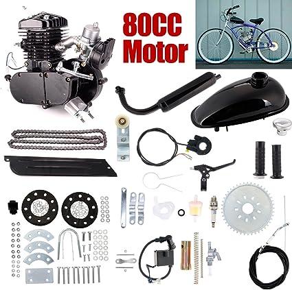 Kit de motor de 2 tiempos de gasolina para bicicleta motorizada de ...