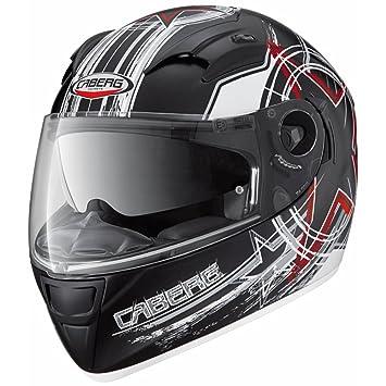 Caberg Vox Freehand mate negro/blanco DVS casco de moto
