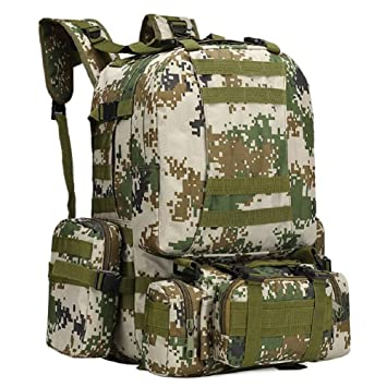 558c97325cf6 LIFEIFENG LF F Military fans camouflage waterproof Oxford cloth military backpack  tactical backpack men camping bag outdoor backpack hiking combination ...