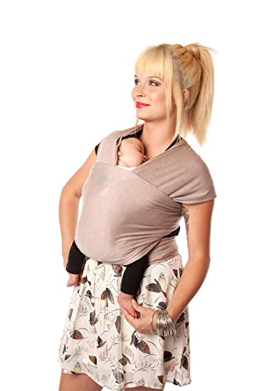 Amazon Com Moby Wrap Bamboo Baby Carrier Blush Baby