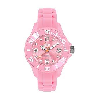 Ice-Watch - ICE forever Pink - Montre rose pour fille avec bracelet en  silicone d6e3c6ce8998