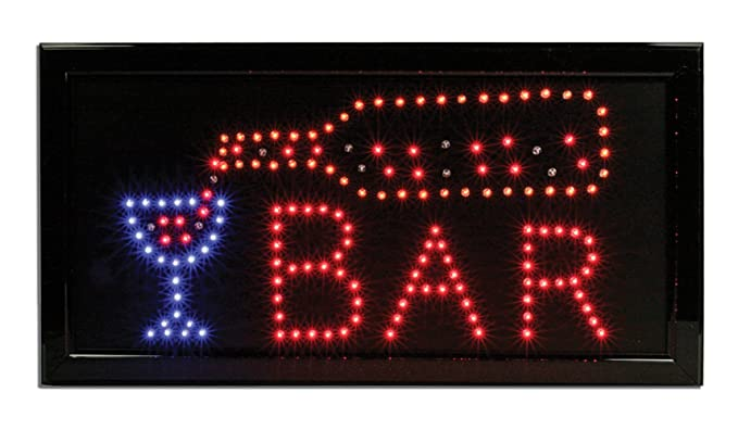 Lighted bar sign led neon bar man cave sign business sign for lighted bar sign led neon bar man cave sign business sign for bars aloadofball Choice Image