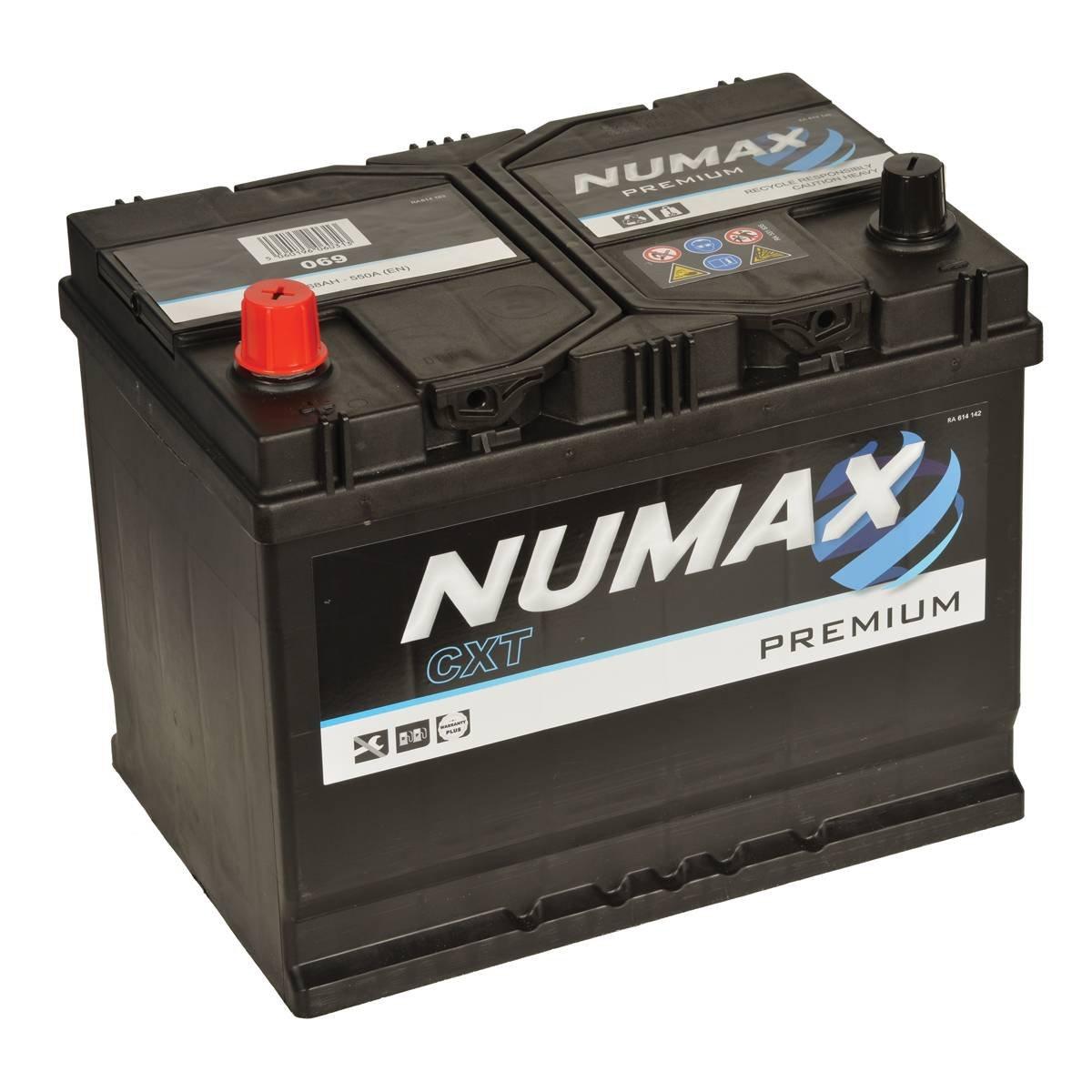 12V 70Ah 700 Amps En Numax Premium 069 Batterie Voitures