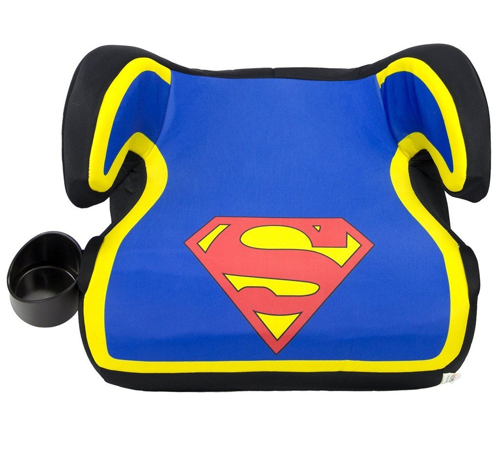 KidsEmbrace DC Comics Superman Backless Booster Car Seat 4801SPMCAN
