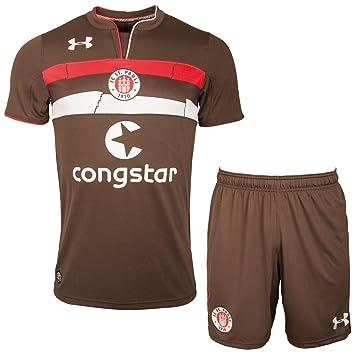 FC St. Pauli Under Armour Juego de 2 Pantalones y Camiseta doméstica 2018/2019: Amazon.es: Deportes y aire libre