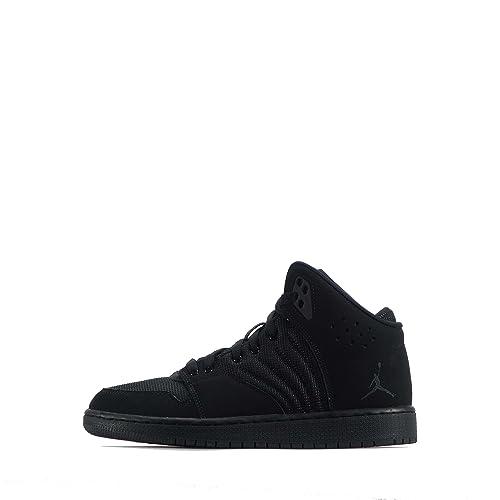 18a5ea27f55 Nike Air Jordan 1 Flight 4 BG Hi Top Basketball Trainers 820136 100  Sneakers Shoes (