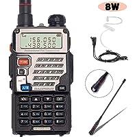 BaoFeng UV-5RE+ 8Watt Ham Radio Handheld with Gamtaai NA-771 Telescopic