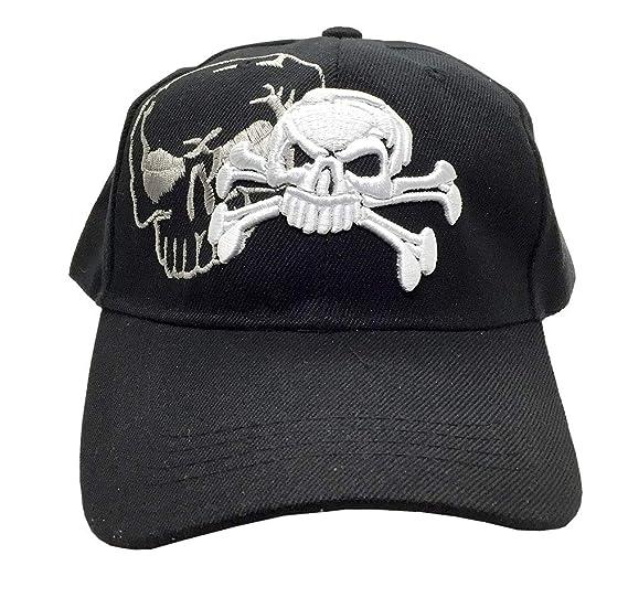 Skull   Crossbones Cap w Shadow 2476e398a36