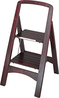 Nice Cosco Two Step Rockford Wood Step Stool, Mahogany