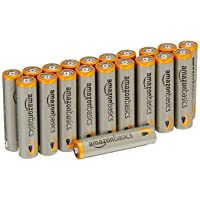 Amazon.com deals on 20Pack AmazonBasics AAA 1.5 Volt Performance Alkaline Batteries