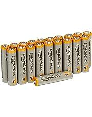 AmazonBasics AAA 1.5 Volt Performance Alkaline Batteries - Pack of 20