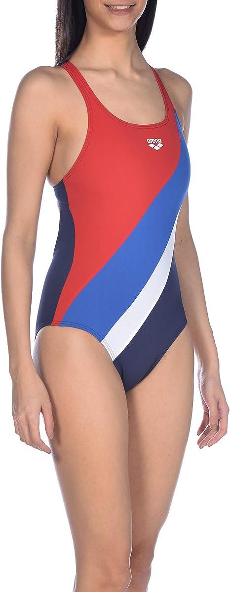 ARENA W Multicolour Webs Swim PRO Back One Piece Costume Sportivo Donna