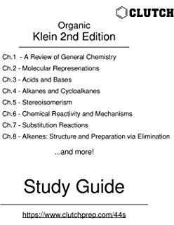 Student study guide and solutions manual ta organic chemistry 2nd study guide for organic chemistry 2nd edition by klein fandeluxe Choice Image