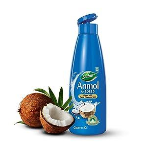 Dabur Anmol Gold Pure Coconut Oil – 600 ml (500 ml + 20 % Extra)