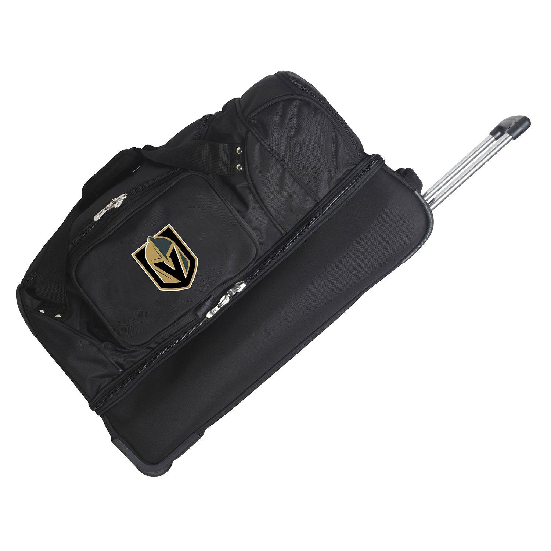 NHL Vegas Golden Knights Rolling Drop-Bottom Duffel Bag, 27-inches
