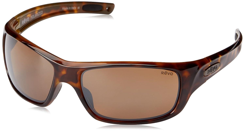 259dac2cba Amazon.com  Revo Guide II RE 4073 02 BR Polarized Rectangular Sunglasses