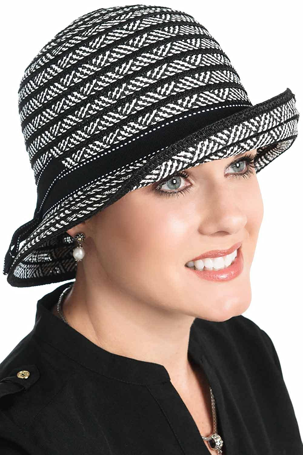 fc4ab96c Headcovers Unlimited Mariah Bucket Hat for Women with Cancer, Chemo,  Alopecia Mariah - Black at Amazon Women's Clothing store: