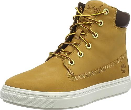 Timberland Damen Londyn 6 Inch Sneaker Halbhoch, Weizenfarben, 42 EU