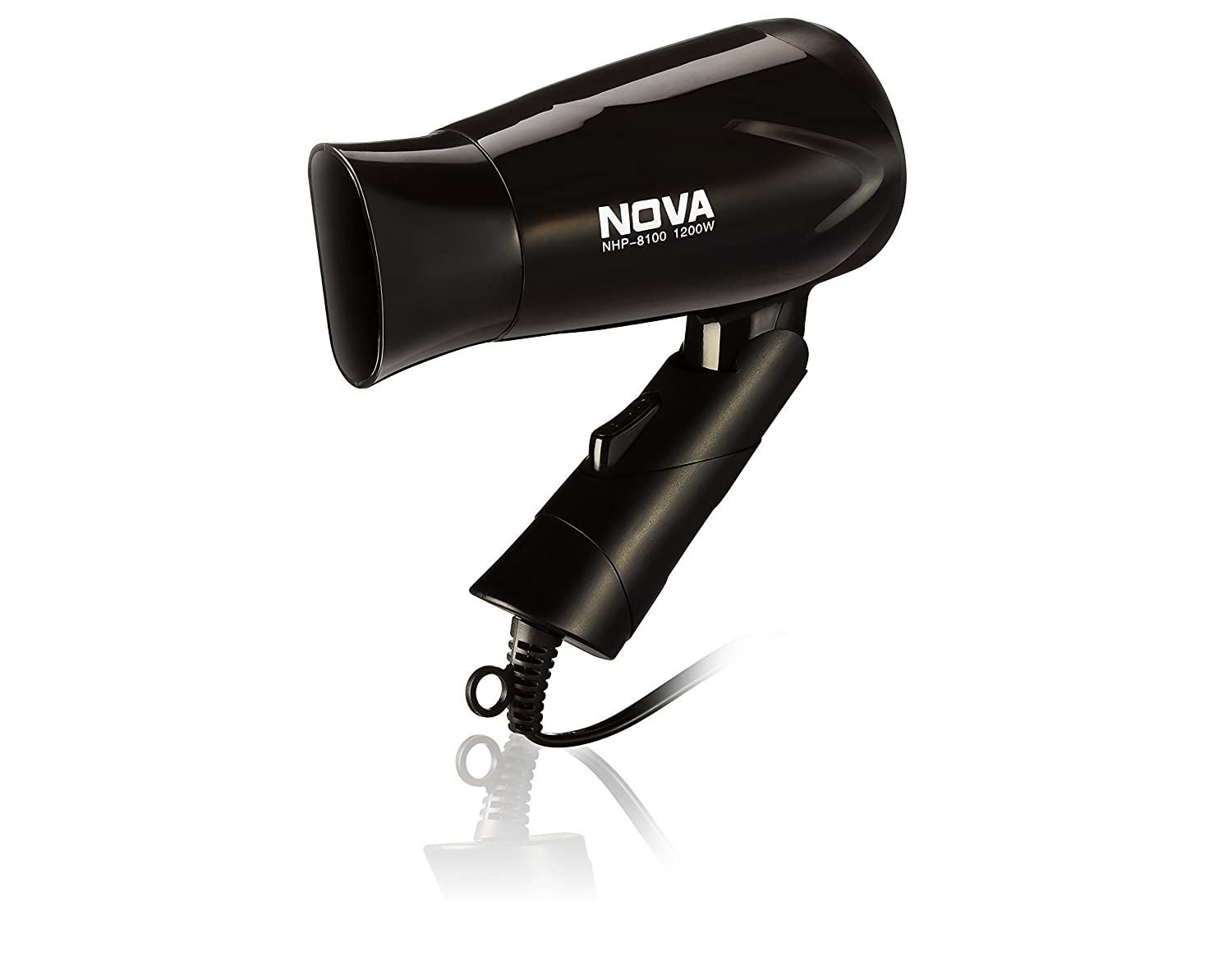 Nova NHP 8100 Silky Shine 1200 W Hot and Cold Foldable Hair Dryer (Black)   Amazon.in  Health   Personal Care fc4b9bd0c4
