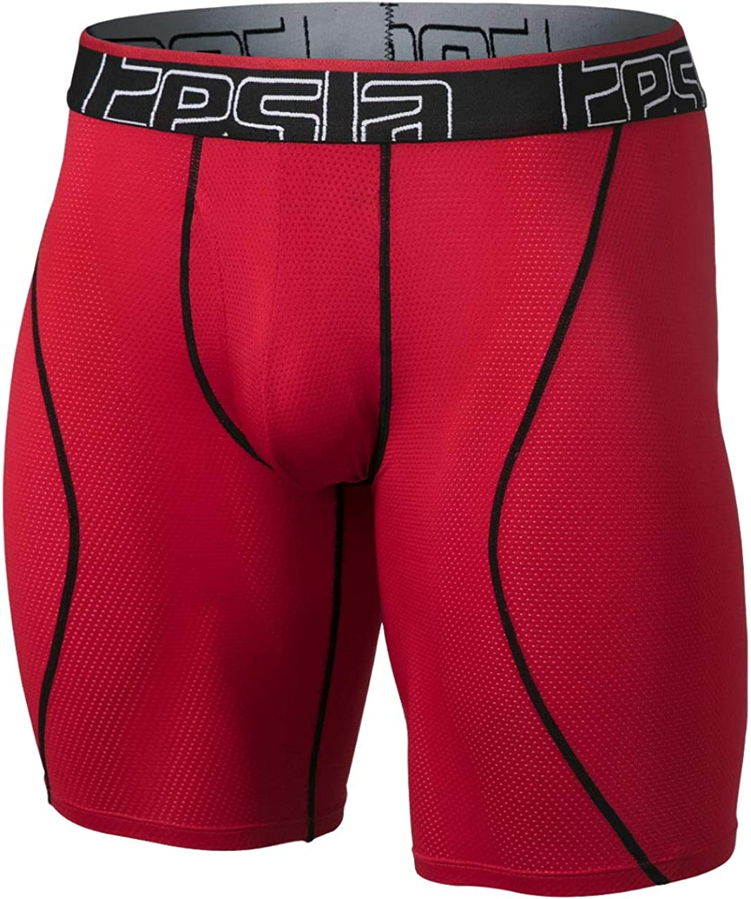 TSLA 2 Pack Men's Relaxed Stretch Cool Dry Performance Brief Mesh Underwear Trunk: Clothing