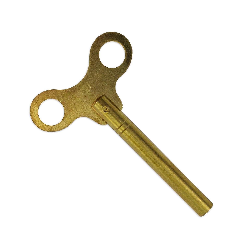Jewellersツール6.5 MM長いシャフトWindingクロックキーWingedタイプ真鍮キー曲段ツール B01AYLIL9G