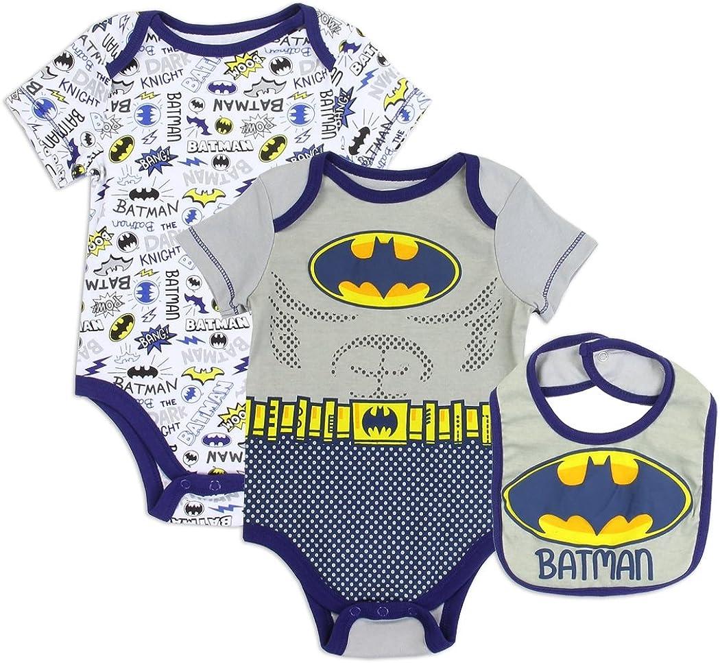 Superman Justice League DC Comics Infant Baby Toddler Boys Creeper Bodysuit