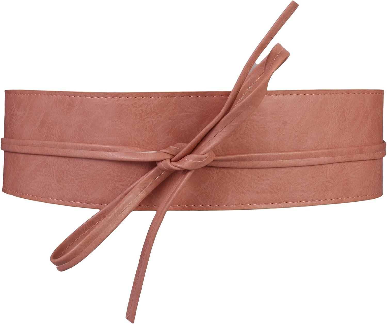 Grigio Cintura Banda Larga Pelle sintetica a stringere intorno di La dimensione in Nero Oro Argento