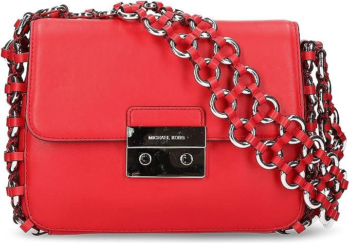 Michael Kors Damen Damen Trage Tasche echt Leder:
