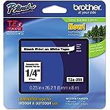 Brother Original P-touch Schriftband TZe-211 (kompatibel mit Brother P-touch PT-H100LB/R, -H105, -E100/VP, -D200/BW/VP, -D210/VP)