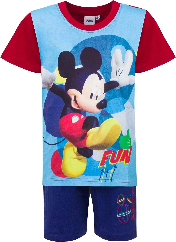 Disney Set di 2 Pigiama Corto Estivo Topolino