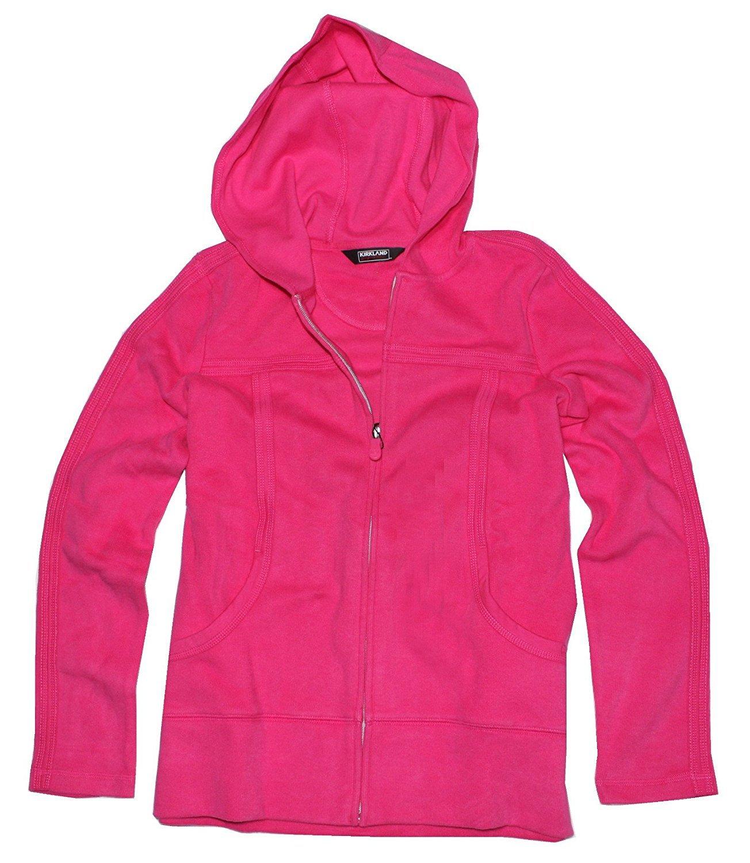 Amazon.com: Kirkland Signature Ladies\' Full Zip Hoodie: Clothing
