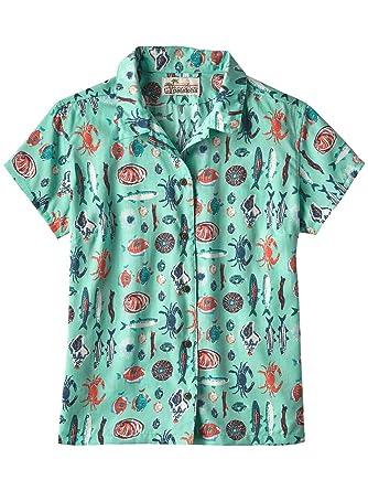 bad90ae0 Shirt short Women Patagonia LW Pataloha Shirt: Amazon.co.uk: Clothing