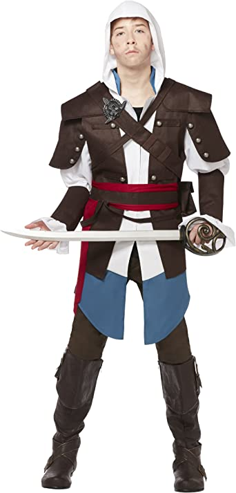 Amazon Com Spirit Halloween Teen Assassin S Creed Costume