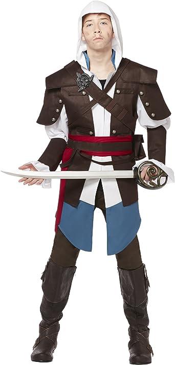 Amazon Com Spirit Halloween Teen Assassin S Creed Costume