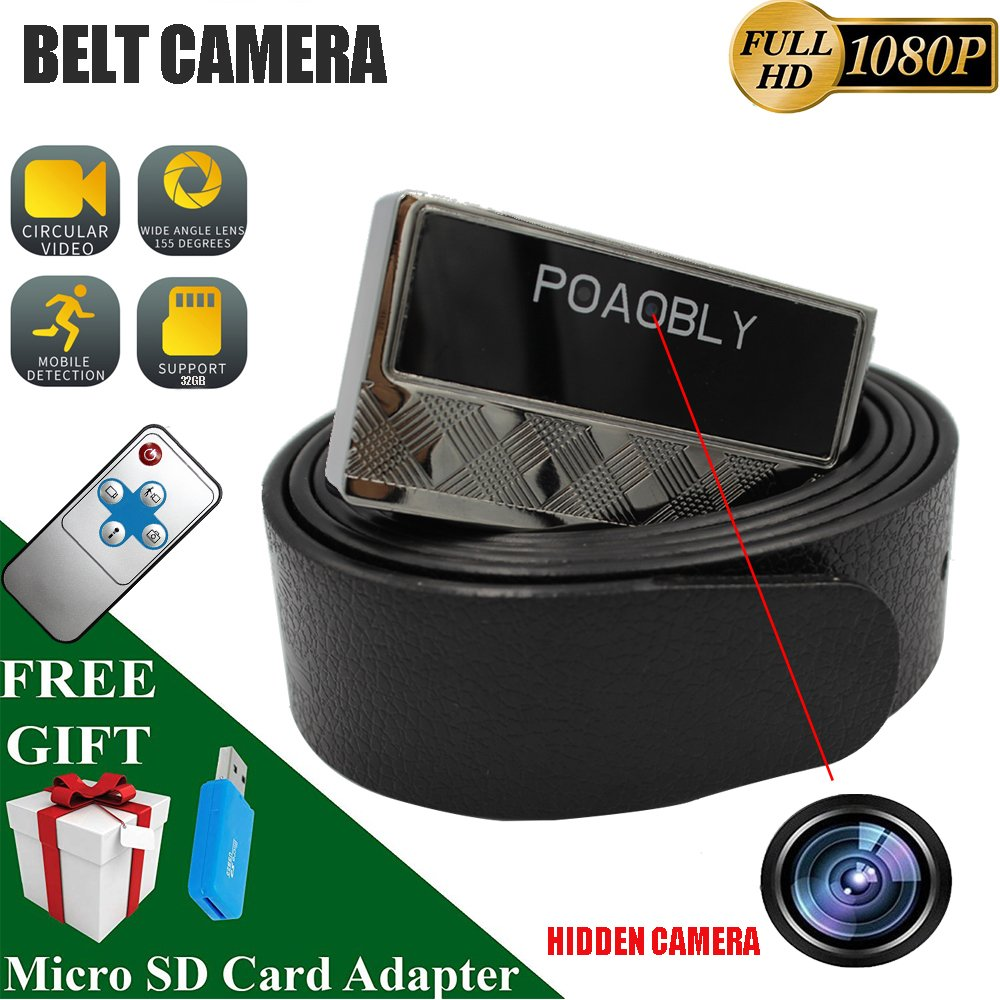 Shadow H8 Camaras Espias-Mini Camera-Spy Camera-Hidden Camera-HD 1080P-Motion Detection-Loop Video-Remote Control Easy Operation-Concealed Camera-Continuous Work Up to 70 Minut by SHADOW RECORDER (Image #1)
