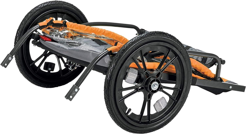 Model ET2 Allen Sports Hi-Viz 2-Child Bicycle Trailer