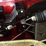 Zone Tech 4-Pack Universal High Power Door Lock