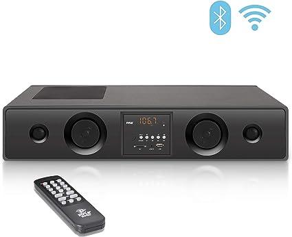Pyle PSBV200BT 300W Bluetooth Soundbar Speaker USB//SD AUX FM Radio /& Remote