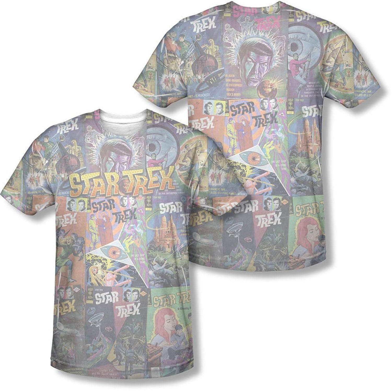 Star Trek - Mens Classic Comics T-Shirt
