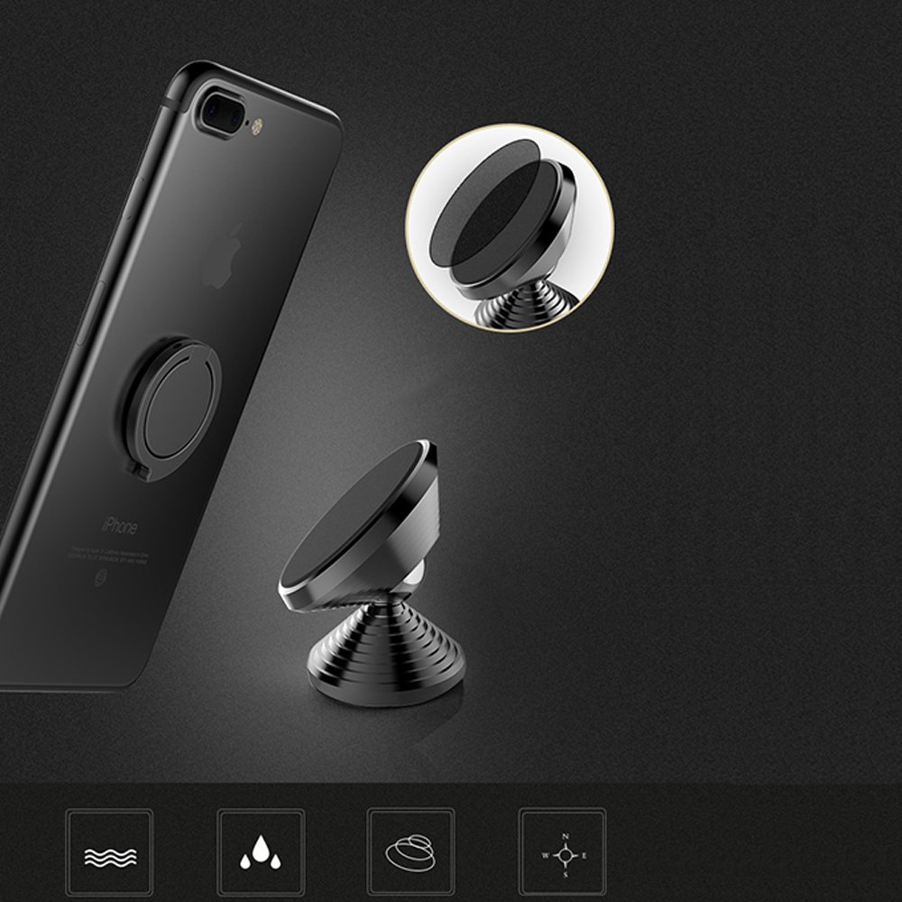 Xnyocn Universal Air Vent Phone Holder Magnetic Car Mount Cradle for Smartphone iPhone X 8 7 Plus 6S 6 5s 5 SE Galaxy S8 S7 S6 Edge Note 8 5