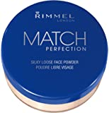 Rimmel London Match Perfection Loose Powder, Transparent, 0.35 Ounce