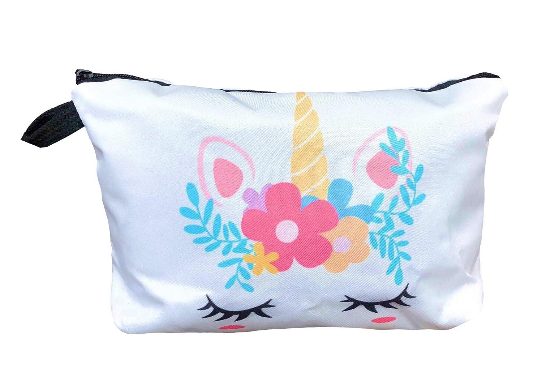 Unicorn Gifts for Girls Unicorn Drawstring Backpack//Makeup Bag//Bracelet//Inspirational Necklace//Hair Ties Pink Unicorn Head