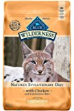 Blue Buffalo Wilderness High Protein Grain Free, Natural Adult Weight Control Dry Cat Food, Chicken